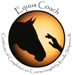 Equus Coach Logo Certificate